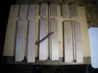 筆箱クルミ(17-08)の木取り