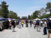 6月10日平安楽市に出店しました