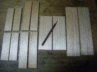 木箱3個組クルミ(17-10)木作り